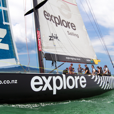 Explore America's Cup Sailing Yacht