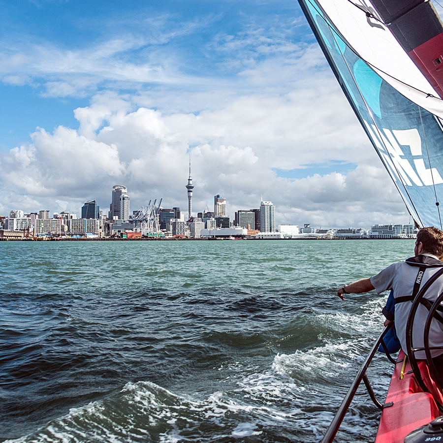 America's Cup Yachts | Sailing Auckland | Waitemata Harbour